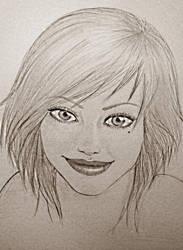 Free sketch - Liz by deen4a