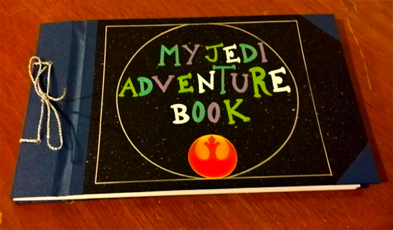 Star wars, Libreta, My Jedi adventure book by canela123