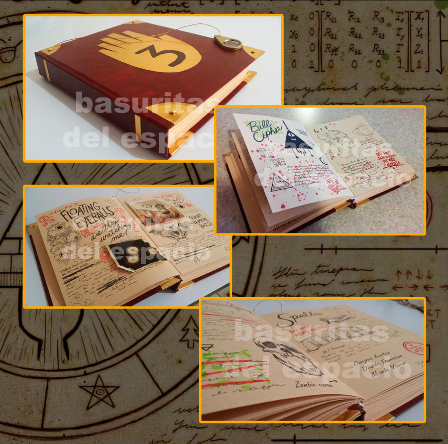 Gravity Falls Journal 3 By Canela123 On Deviantart