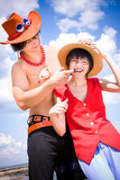 Portgas D Ace One Piece cosplay Althair 11 (2) by AlthairLangley