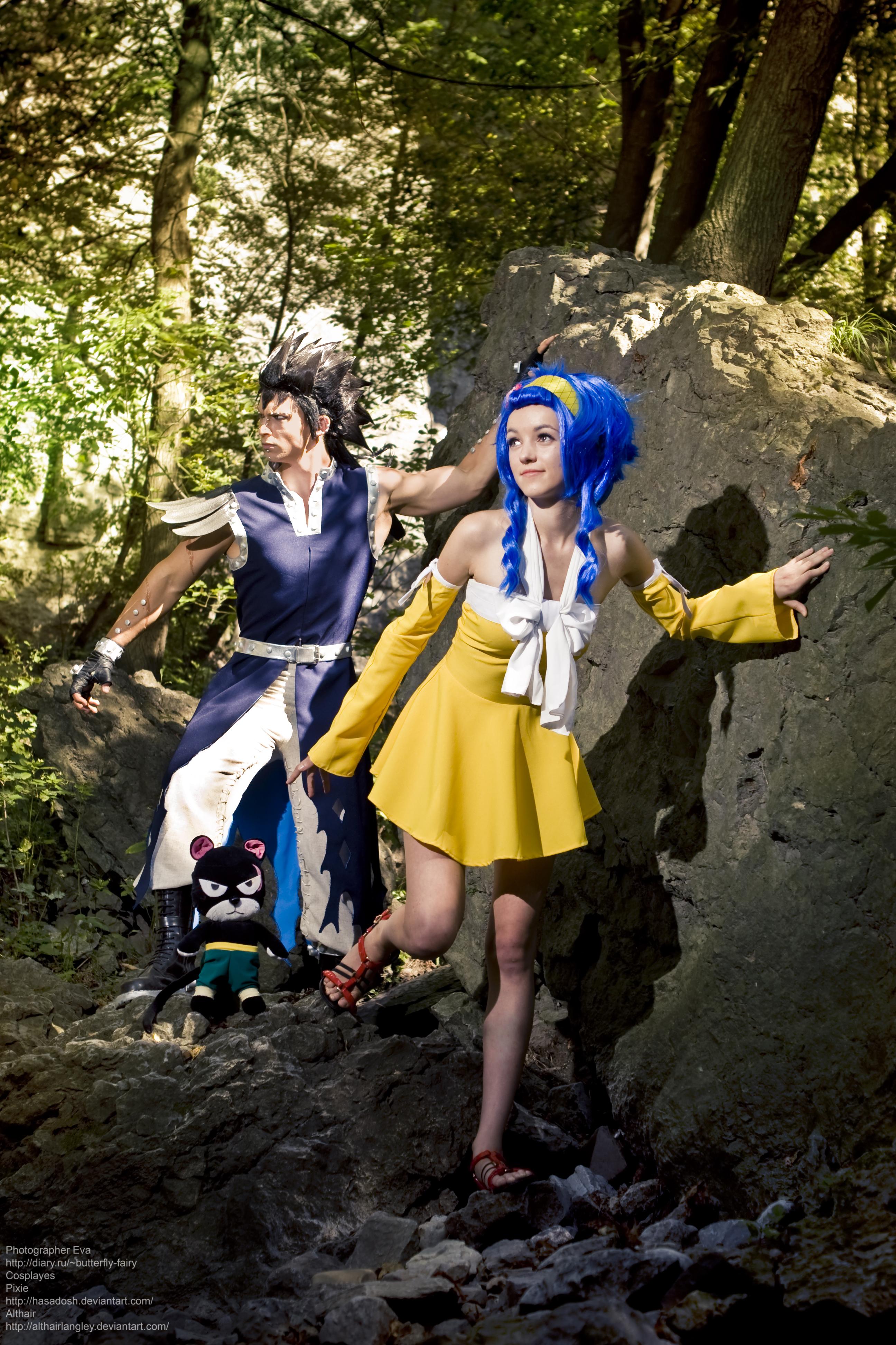 tail cosplay Fairy gajeel