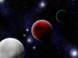 Moons of Krynn by Tohtori