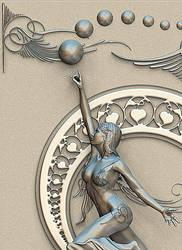 Art Nouveau 1 Detail version by Riccus