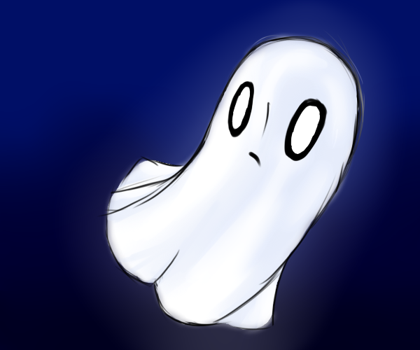Napstablook by Lavii-Chan