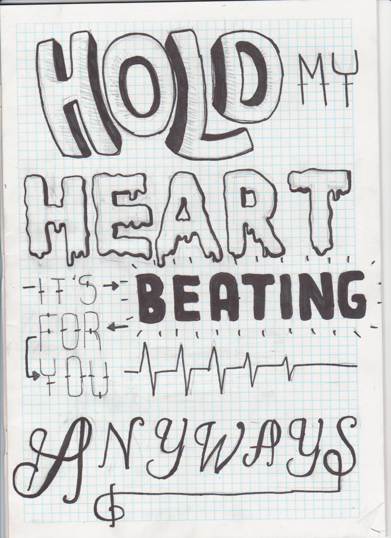Pierce The Veil lyric drawing by sempeternally on DeviantArt