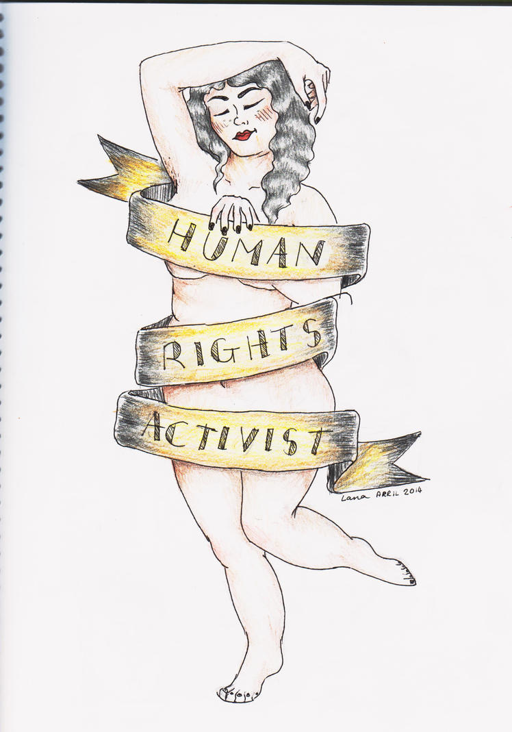 Human Rights Activist tattoo design by sempeternally on ...
