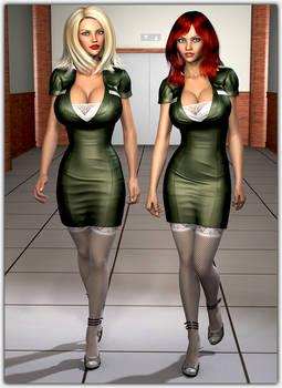 The new flight instructors ...