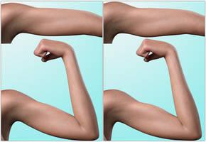 Genesis3 and Genesis8 muscle flexing ... (IRay) by darkhound1