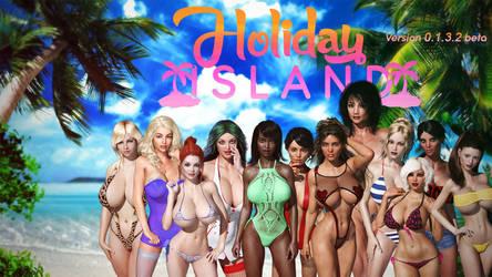 Holiday Island ... my first Ren'py game (0132beta) by darkhound1