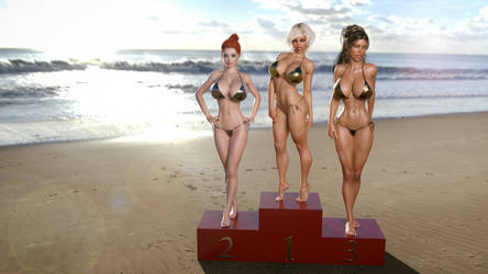 Winning the holiday island favorite girl poll ... by darkhound1
