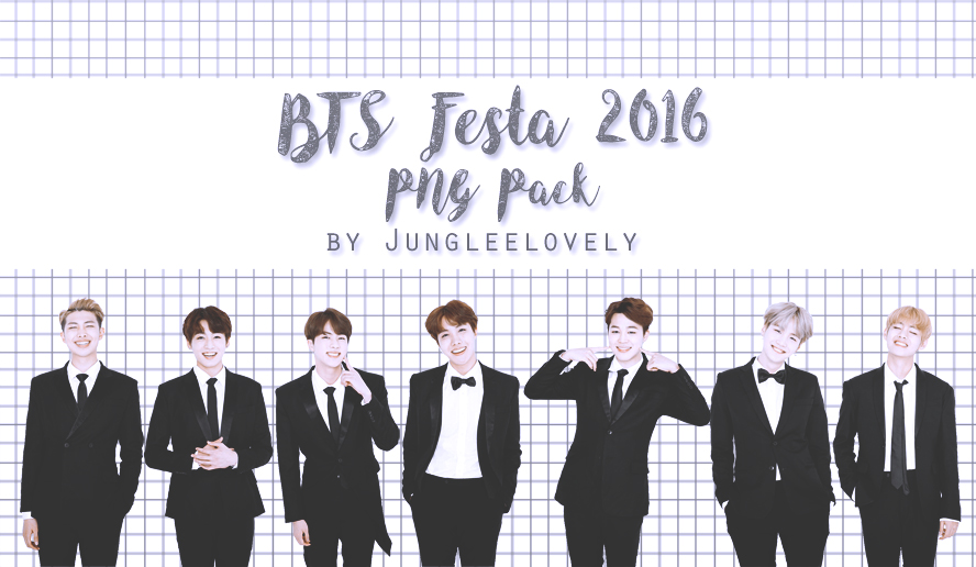 BTS Festa 2016 PNG Pack by Jungleelovely by Jungleelovely on