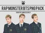 RAPMONSTER BTS PNG PACK by JUNGLEELOVELY