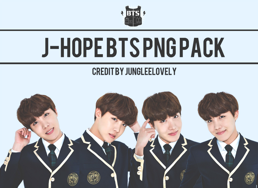 J-HOPE BTS PNG PACK by JUNGLEELOVELY by Jungleelovely