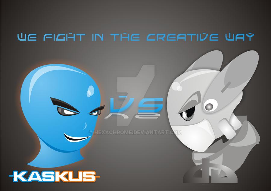 KasKus Vs DeviantArt by HexaChrome