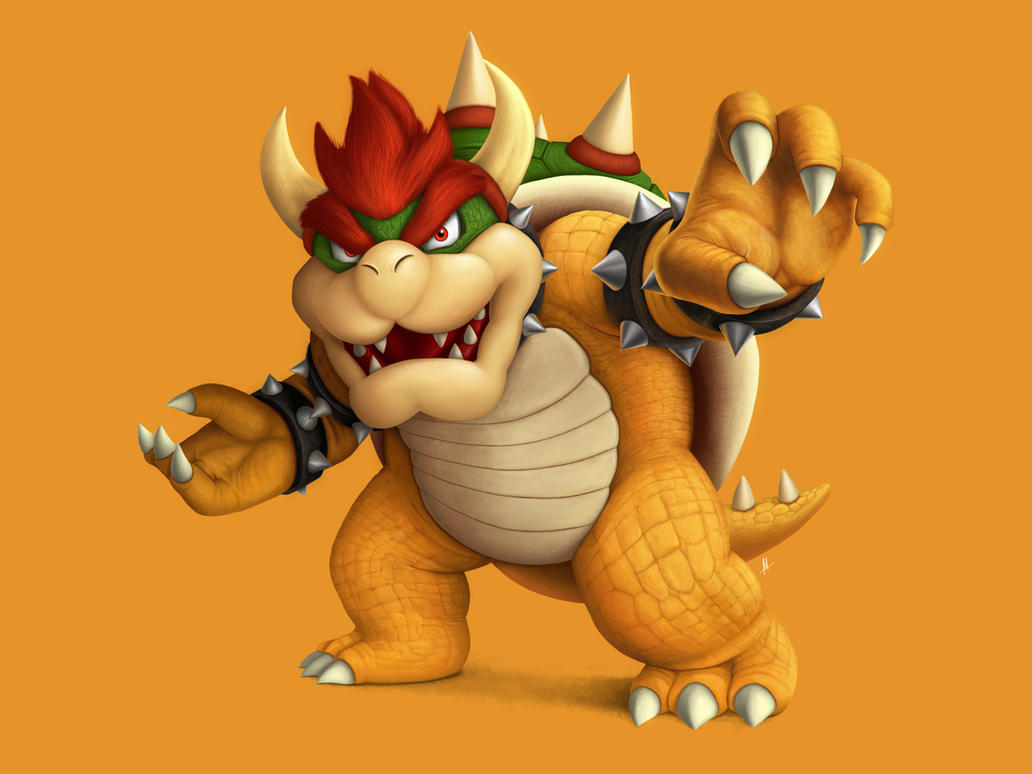 King Bowser by M-Thirteen