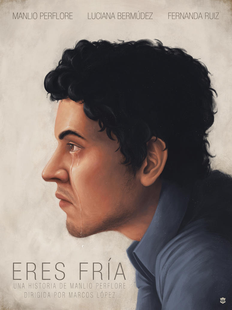 Eres Fria - Short Film Poster by M-Thirteen