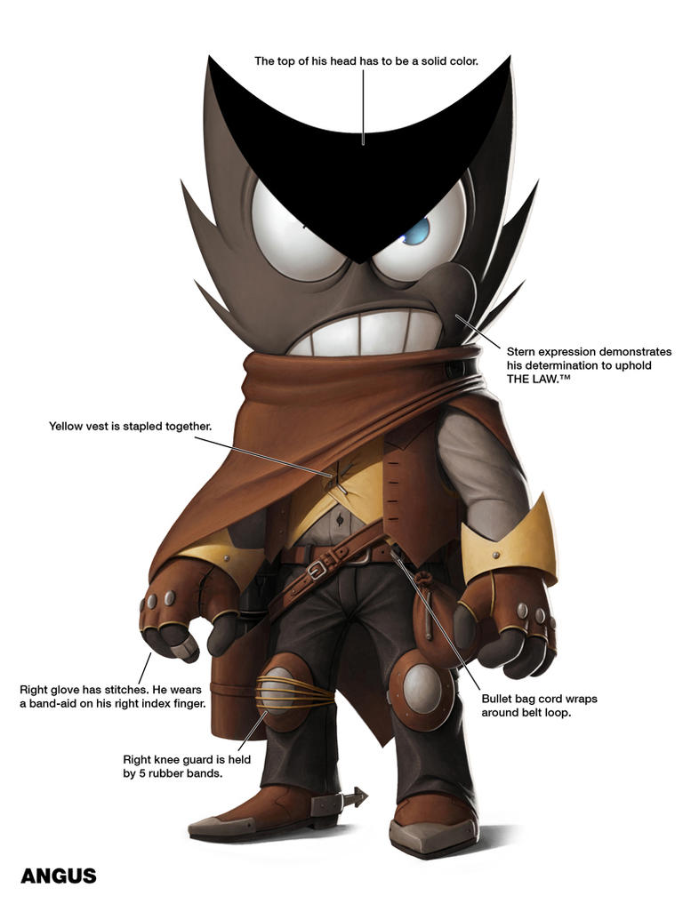 Angus - Character Sheet by M-Thirteen