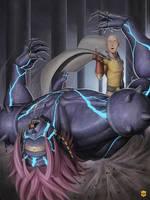 Saitama vs. Lord Boros - One Punch Zine Entry