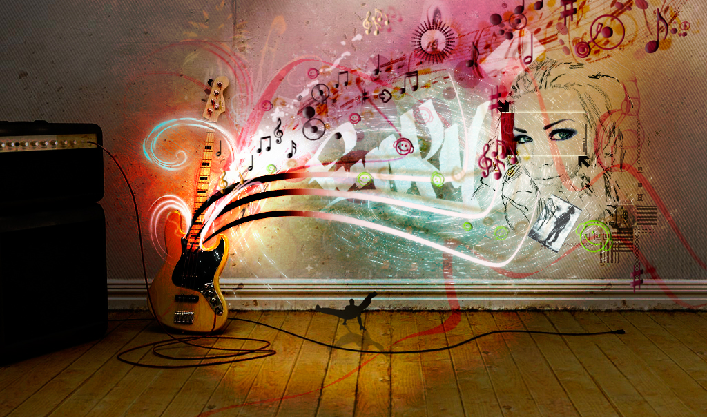guitarWall by Adisiat