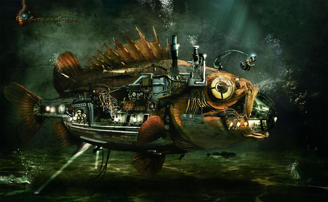 BigSteamFish by Adisiat