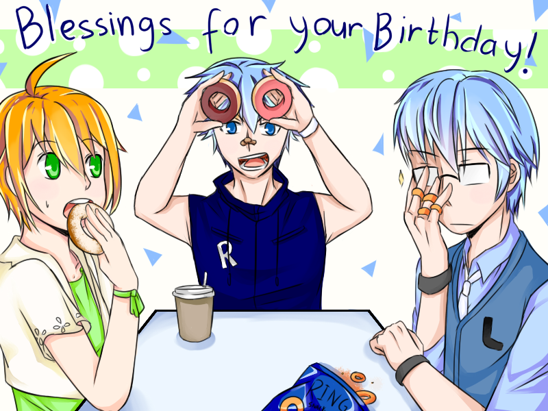 TBH - HAPPY (Belated) BIRTHDAY YOU MAY TRIO by pengguchan