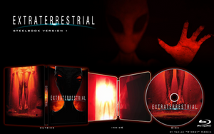 FUN ARTWORK STEELBOOK - EXTRATERRESTRIAL v1