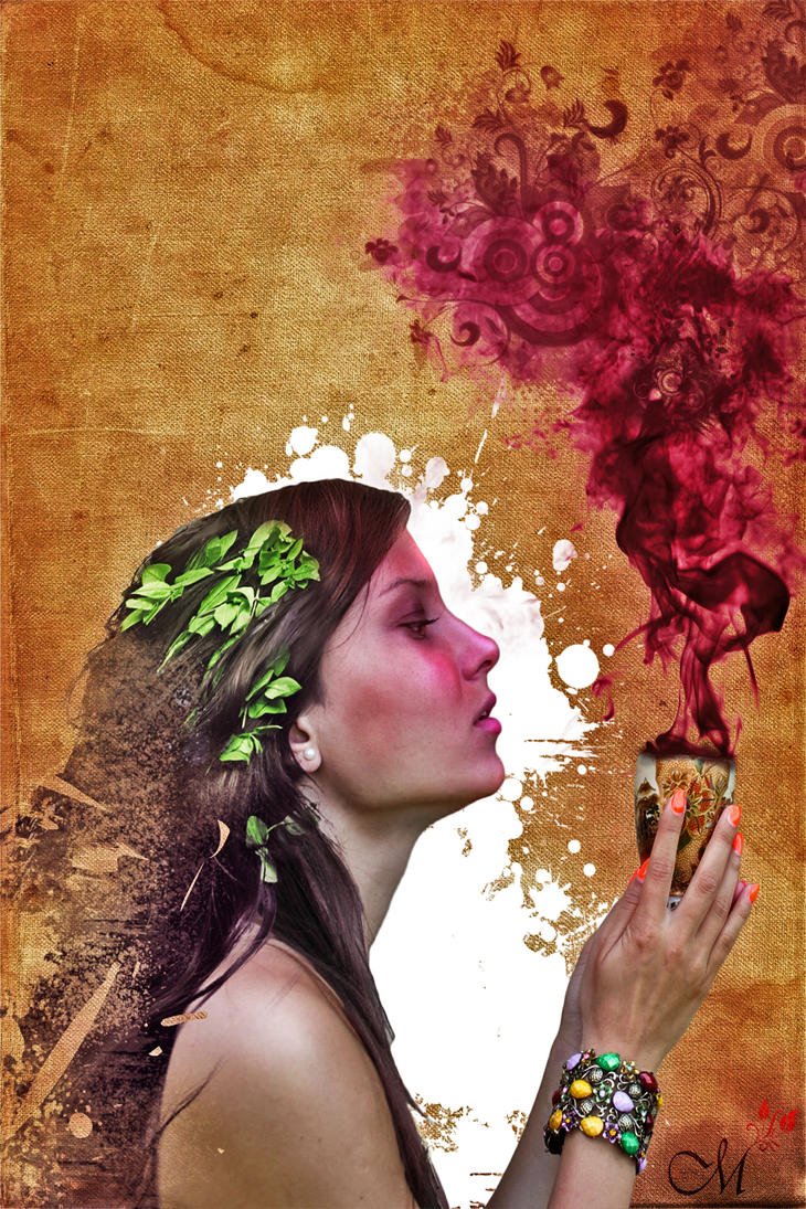 Violet Smoke by MartinMannik