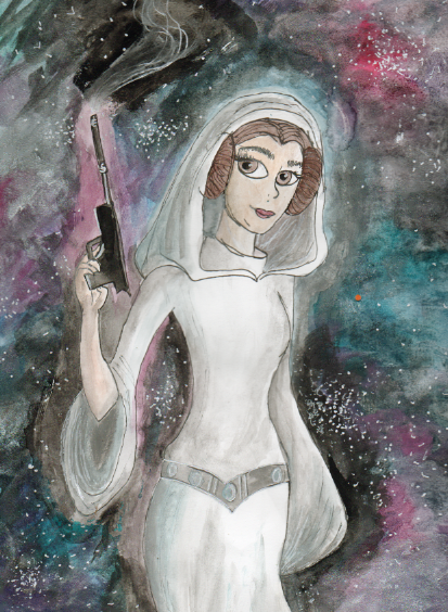 Princess Leia by allysorge