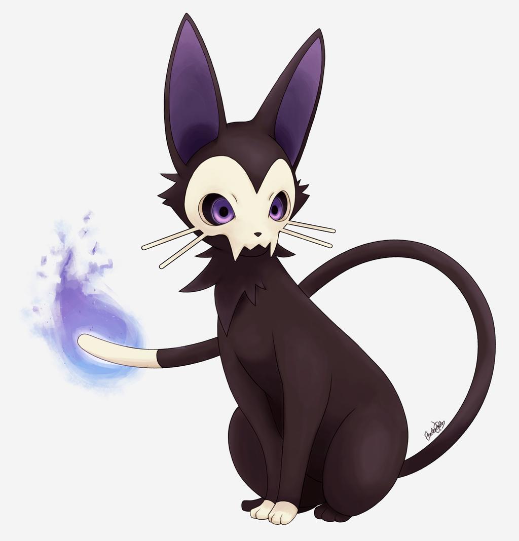 Eeveelution Ghost Type By Hitsuji02 On DeviantArt