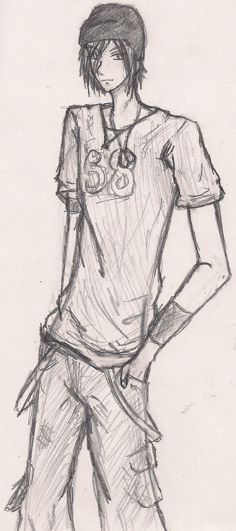 Joshua -Sketch- by shoujoartist