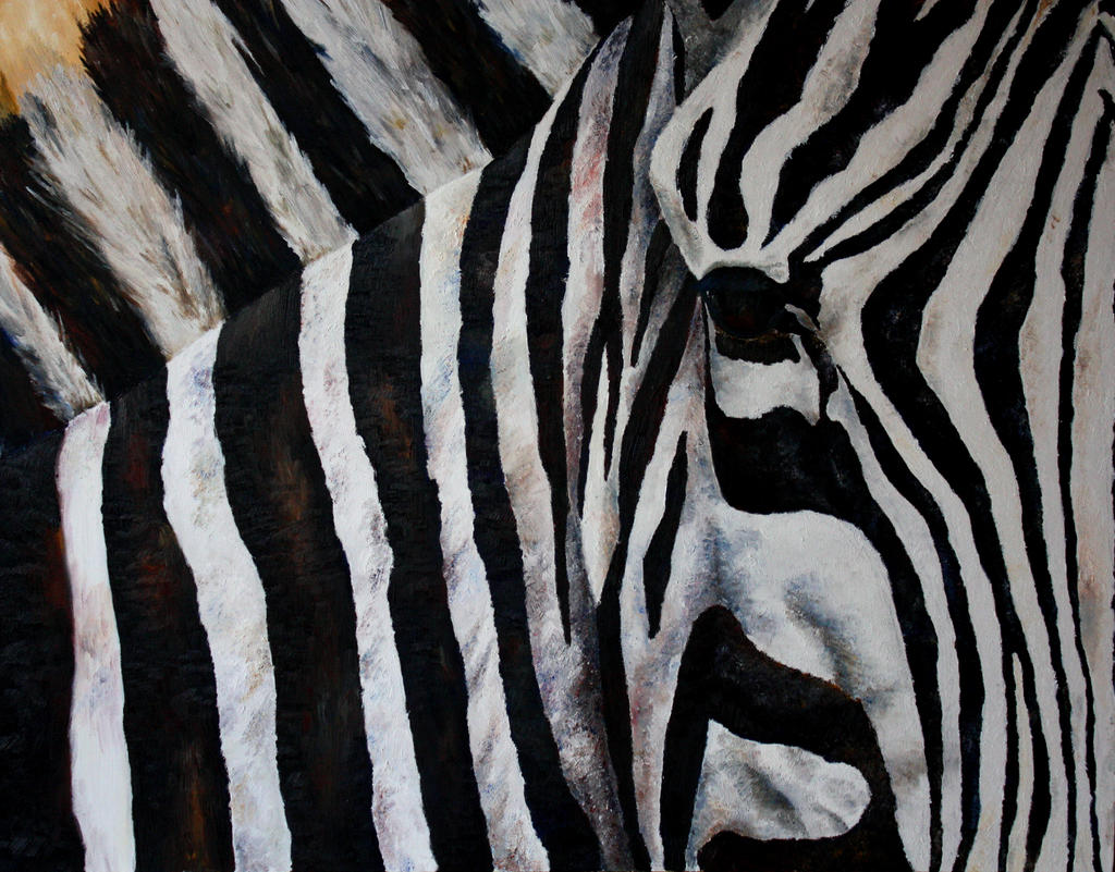 Zebrapainting by kilotango4