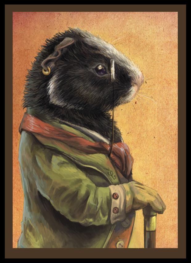 Chupko portrait II by Keaze