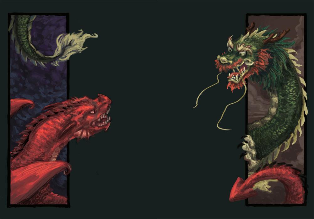 Mythology crossover by Keaze