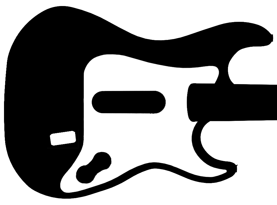Guitar Hero 3 Kramer Stencil