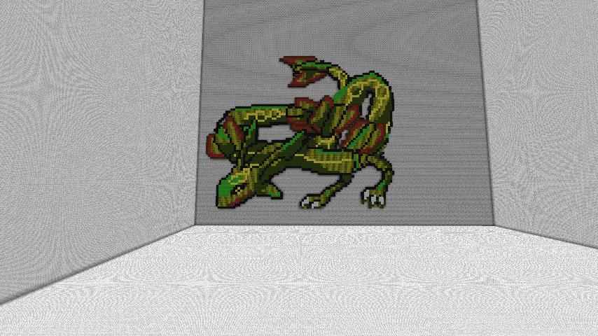 Rayquaza Pixel Art By Naruzegawa ...