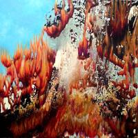 Underwater fire by rougealizarine