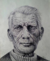 Samuel Beckett by rougealizarine
