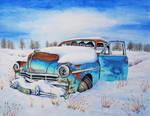 Snowy Plymouth by rougealizarine