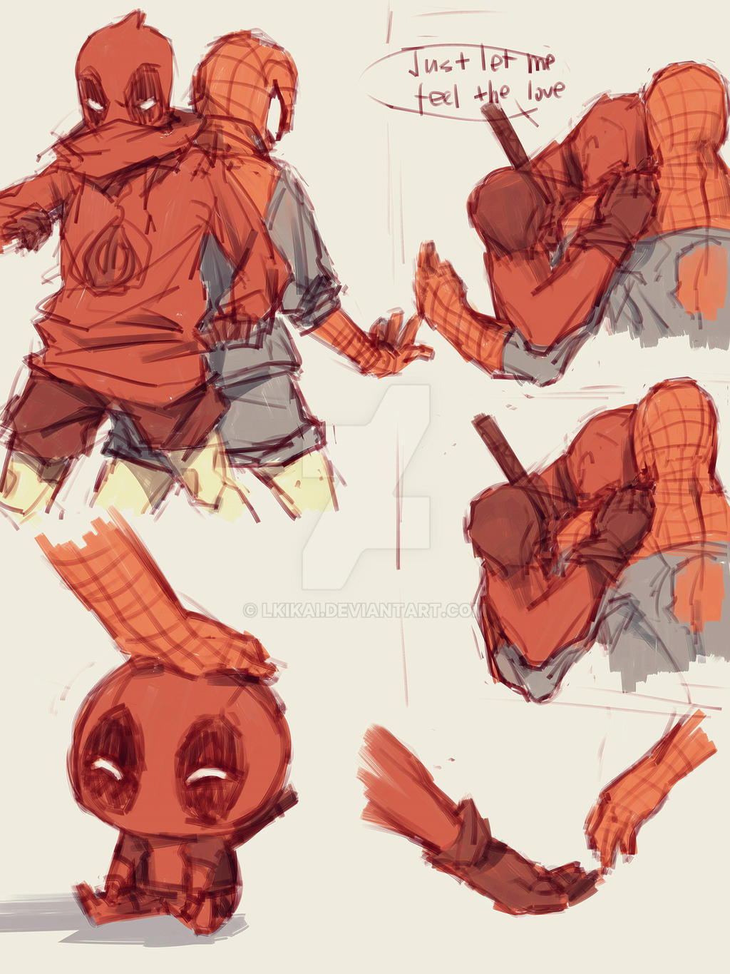 Spideypool16 by LKiKAi on DeviantArt