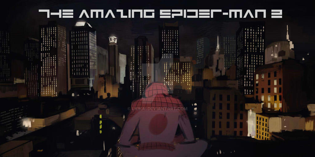 the amazing spiderman by LKiKAi