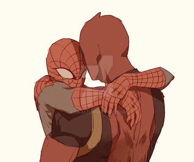Spideypool143 by LKiKAi