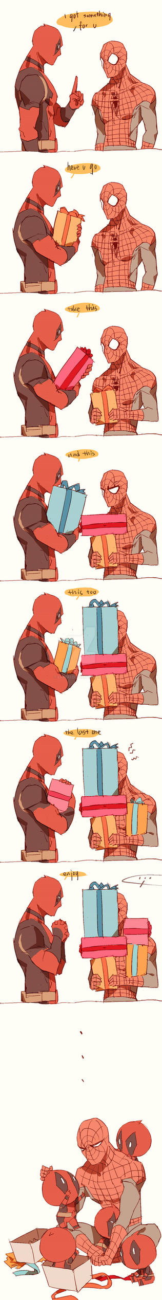 spideypool208 by LKiKAi