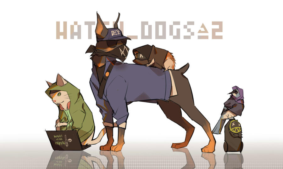 Watch Dogs 2 Wrench Fanart: Watch_Dog_2 By LKiKAi On DeviantArt