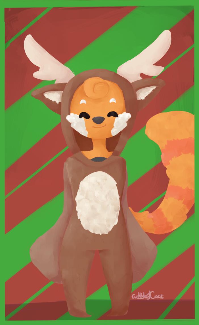 reindeer onesie penny by fancyFeline33