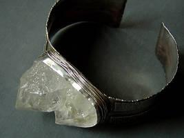 Big Crystal Cuff by MarieCristine