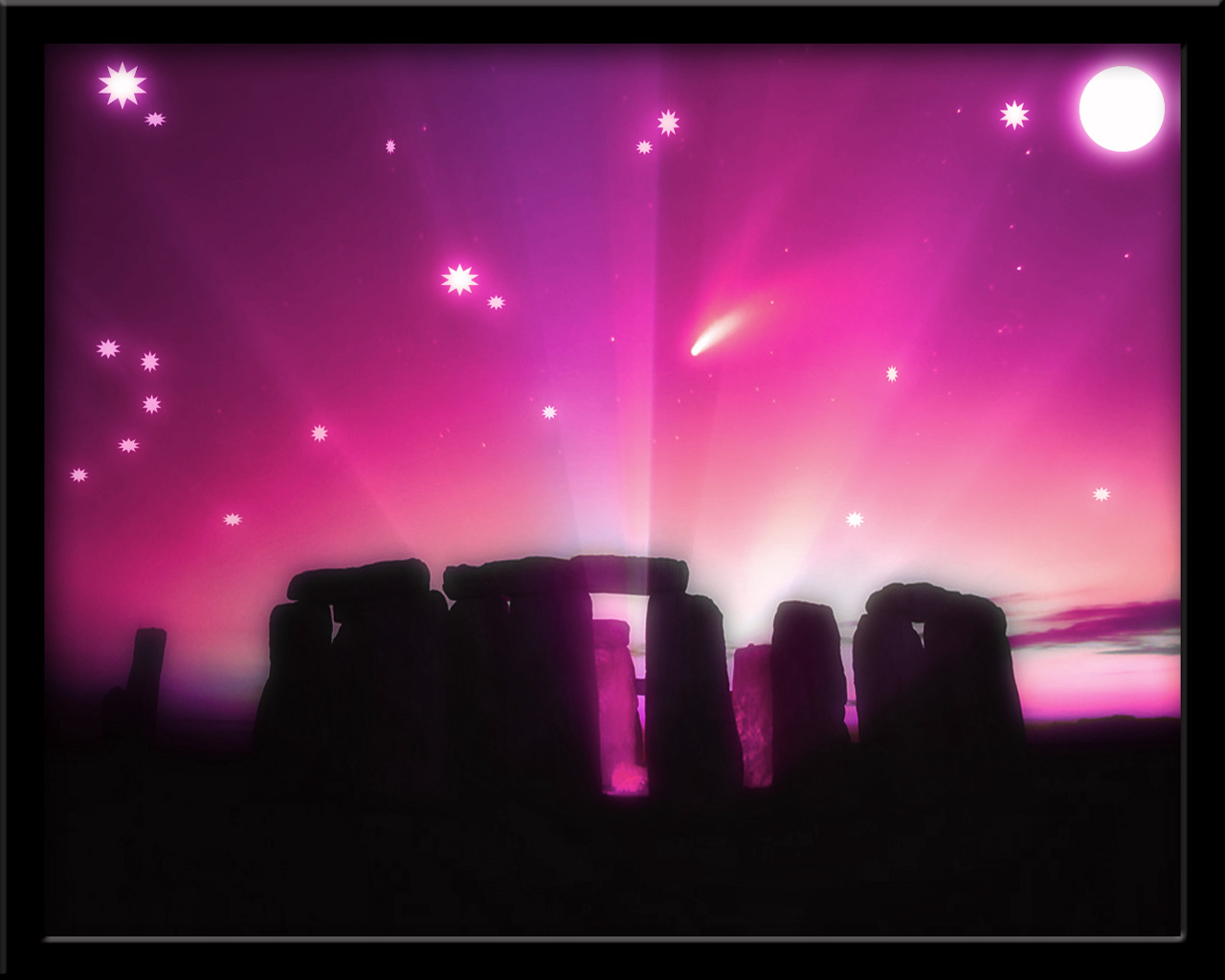 Stonehenge Midnight 5 by welshdragon