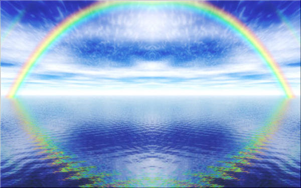 Rainbow Reflections 2 by welshdragon