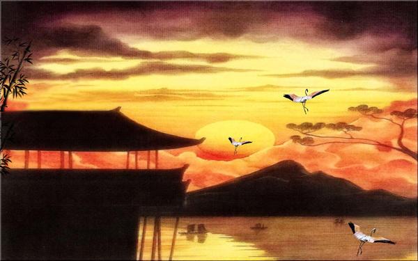 Eastern Sunset by welshdragon