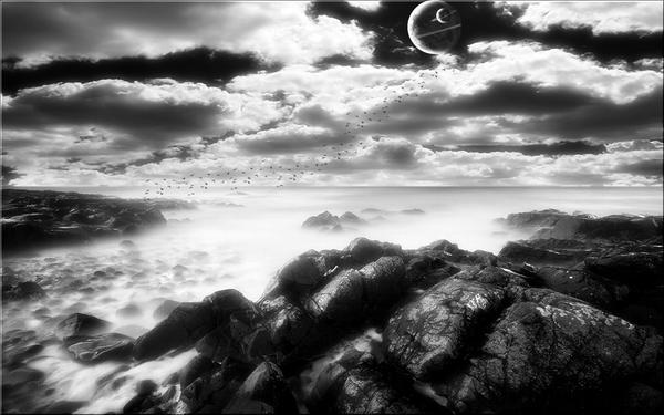 Dark Horizon by welshdragon