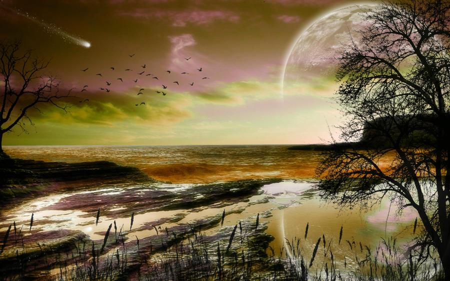 Dawns Early Light 7 by welshdragon